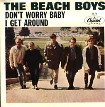 Beach Boys - Don�t Worry Baby / I Get Around W/ps
