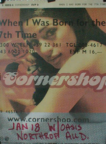 Cornershop - When I Was Born For The 7th Time Poster