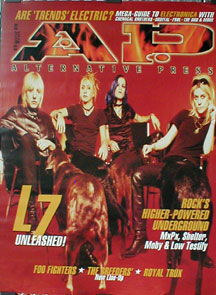Alternative Press Cover Poster