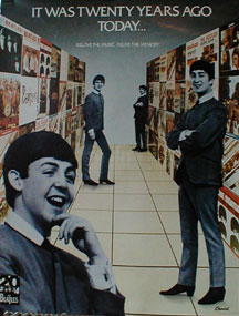 Beatles - It Was Twenty Years Ago Today poster