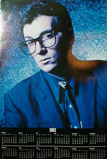 Costello, Elvis - Almost Blue 1982 Calendar Poster