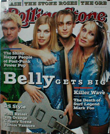 Belly - Rolling Stone cover poster