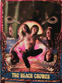 Black Crowes - Three Snakes And One Charm poster