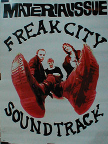 Material Issue - Freak City Soundtrack Poster