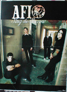 AFI - Sing The Sorrow poster
