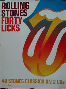 Rolling Stones Forty Licks Records, LPs, Vinyl and CDs ...