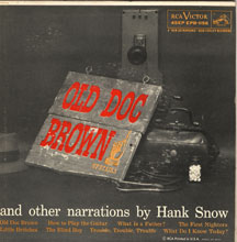 Snow,Hank Old Doc Brown And Other Narrations By 2x7 Ep W/Ps EP
