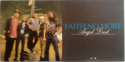 Faith No More - Angel Dust Poster Flat