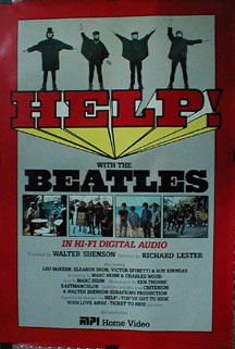Help Video Release Poster