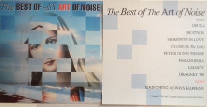 Art Of Noise - The Best Of poster flat