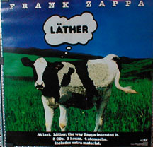 Frank Zappa Lather Records Lps Vinyl And Cds Musicstack
