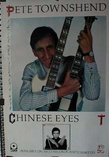 Townshend, Pete - All The Best Cowboys Have Chinese Eyes Poster