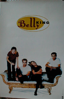 Belly - King poster