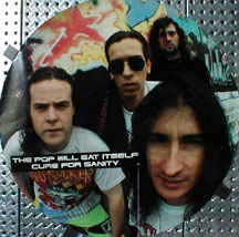 Pop Will Eat Itself Cure For Sanity Poster PO