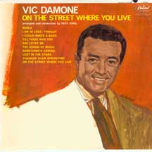 Damone, Vic - On The Street Where You Live