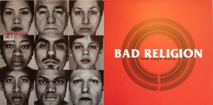 Bad Religion - The Gray Race Poster Flat