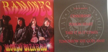 Ramones Mondo Bizarro Records Lps Vinyl And Cds Musicstack