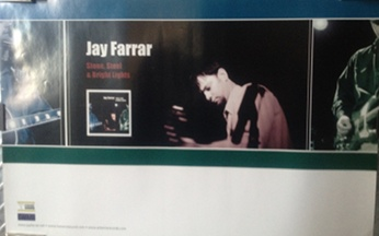 Farrar, Jay - Stone, Steel & Bright Lights Poster