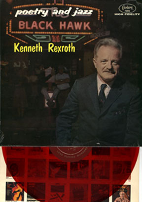 Rexroth,Kenneth - Poetry And Jazz At The Blackhawk - red vinyl