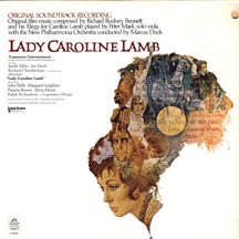 Lady Caroline Lamb - Soundtrack