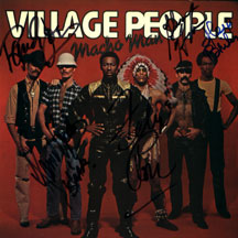 Village People - Macho Man (autographed)