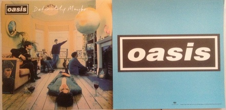 Oasis - Definitely Maybe Poster Flat