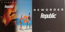 New Order - Republic Poster Flat