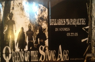 Queens Of The Stone Age - Lullabies To Paralyze Poster