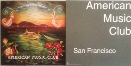 American Music Club - San Francisco Poster Flat
