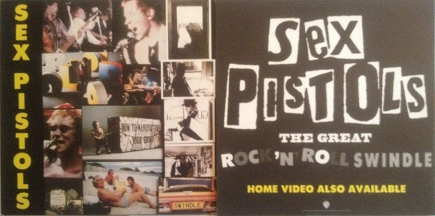 Sex Pistols - Great Rock �n Roll Swindle Poster Flat