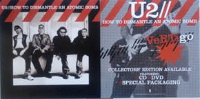 U2 - How To Dismantle An Atomic Bomb Poster Flat